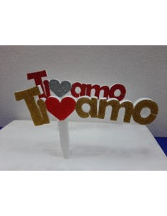 CAKE TOPPER TI AMO  SAN...