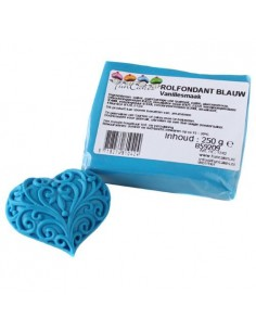 PASTA DI ZUCCHERO BLUE 250Gr Funcakes