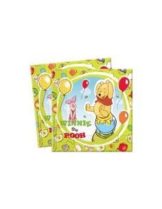 20 Tovaglioli Winnie The Pooh