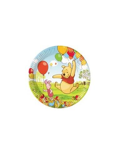 10 Piatti Cm 23 Winnie The Pooh