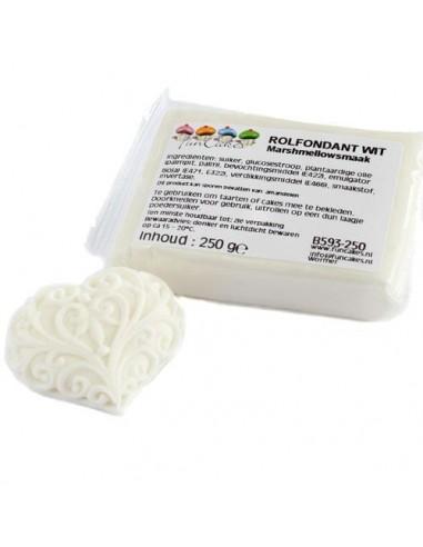 PASTA DI ZUCCHERO MarshMallow Bianco Da 250 Gr FunCakes