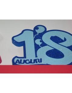 """NUMERO """"18"""" GIGANTE BLU"""