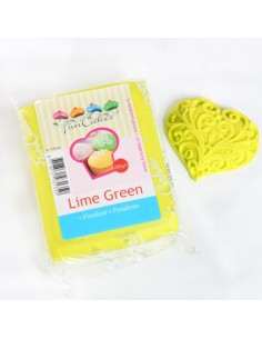 PASTA DI ZUCCHERO  Verde Lime Da 250 Gr FunCakes
