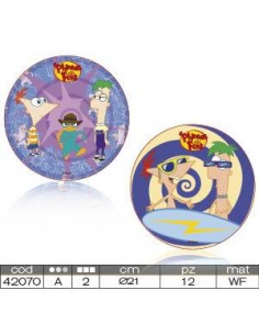 "Cialda per Torte  ""PHINEAS AND FERB"""