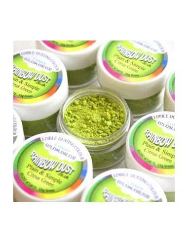 Colorante in Polvere Citrus Green Rainbow Dust