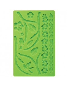 Stampo in Silicone Wilton NATUR Fondant and Gum Paste Mold