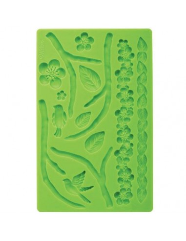 Stampo in Silicone Wilton NATUR Fondant and Gum Paste Mold