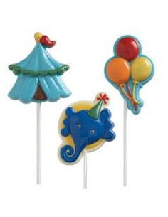 STAMPO CIOCCOLATTINO LOLLIPOP WILTON BIG TOP CIRCO