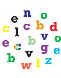 Alphabet tappits Lower Case alfabeto