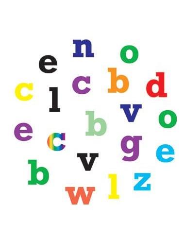 Alphabet tappits Lower Case alfabeto