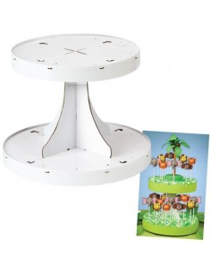 SET ALZATINA IN CARTONE LOLLIPOP WILTON POPS DISPLAY STAND