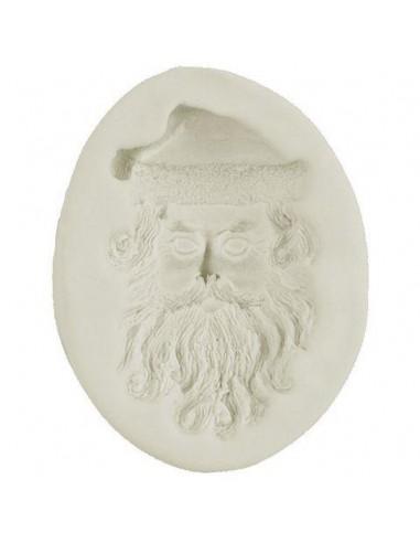 Mini Stampo in Silicone Babbo Natale