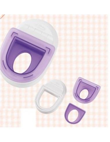 Timbrataglia con forma Ovale Wilton Punch Set