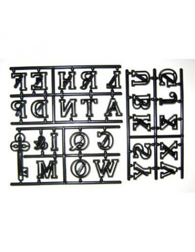 Patchwork Cutter Large Alphabet & Key
