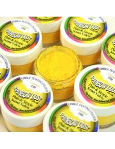 Colorante in Polvere Giallo Oro Sunset Yellow Rainbow Dust
