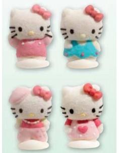 Soggetti Hello Kitty in zucchero e gelatina