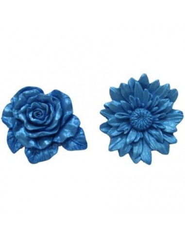 MINI STAMPO IN SILICONE FLOWER