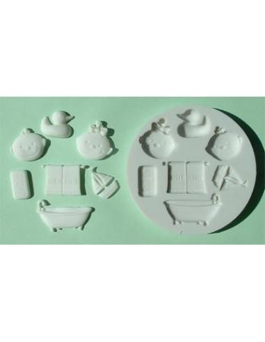 Mini Stampo in Silicone Bathtime bagnetto