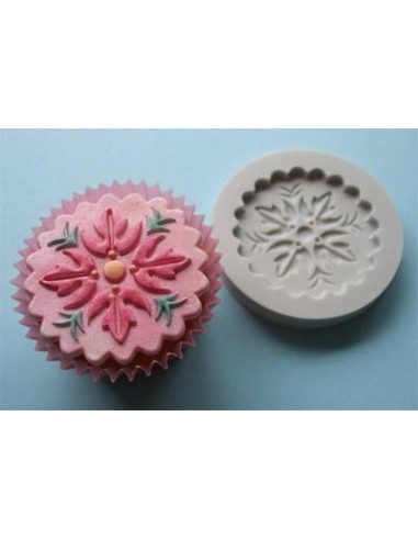 Mini Stampo in Silicone Cupcakes Topper 1