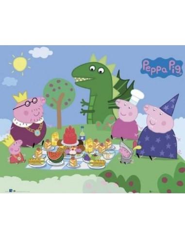 """Cialda per Torte  """"Peppa Pig"""""""