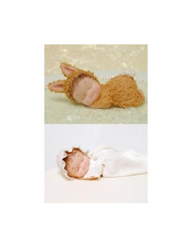 Stampo in Silicone Bambino che dorme/Cuscino