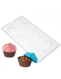 STAMPO CIOCCOLATTINO LOLLIPOP WILTON CUPCAKES CONTAINER