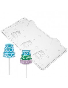 STAMPO CIOCCOLATTINO LOLLIPOP WILTON FORMA 3D CAKE POPS