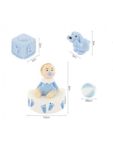 Baby Set Zu Giochi Bimbo 4 Pezzi