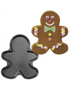 STAMPO ANTIADERENTE GINGERBREAD NATALE WILTON