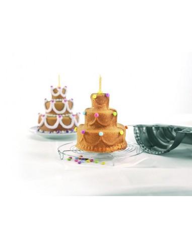 STAMPO PER TORTE  HAPPY BIRTHDAY 3D