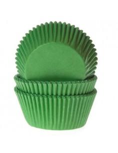 50 PIROTTINI PER CUPCAKES GREEN VERDE