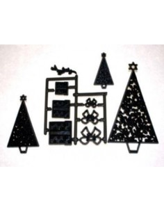 Patchwork Cutter Christmas Trees/Parcels Natale