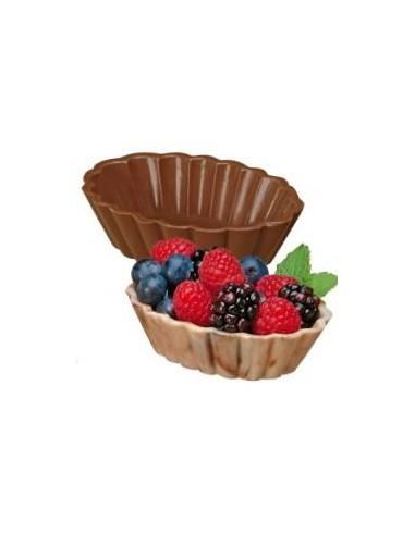 Stampo Cioccolatino Dessert Conchiglia Nuovo Prodotto Wilton