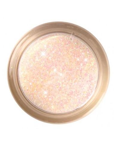 Glitter Sparkle Rainbow Dust Iced Peach