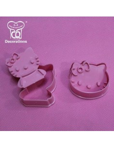 2 Stampi Espulsione Hello Kitty