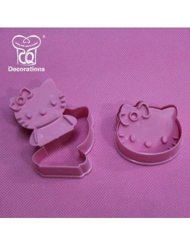 2 Stampi Espulsione Hello Kitty