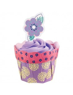 12 WRAPPER VASETTO PEONIA PASQUA WILTON