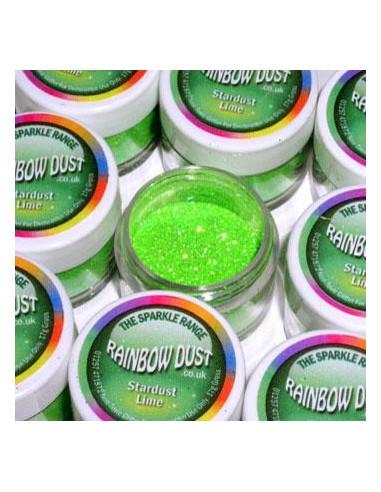 Glitter Sparkle Rainbow Dust Stardust Lime