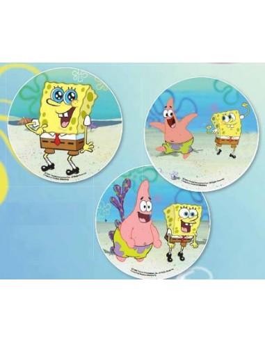 Cialda per Torte Spongebob 22 CM