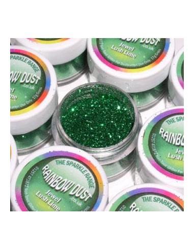 Glitter Sparkle Rainbow Dust Jewel Lush Lime