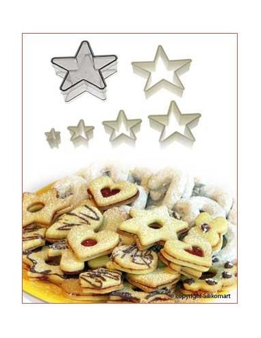 SET TAGLIAPASTA CUTTER NYLON REGULAR STAR  SILIKOMART