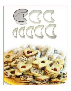 SET TAGLIAPASTA CUTTER NYLON REGULAR MOON SILIKOMART