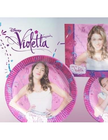 16 Tovaglioli Cm 33x33  Violetta
