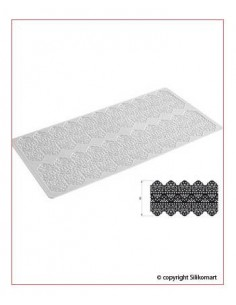 Tappetino in Silicone per Pizzi Tricot Deco Dentelle Silikomart
