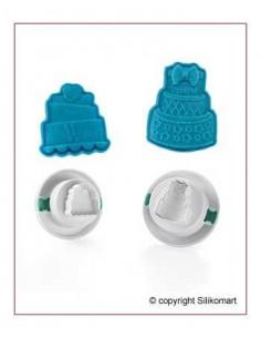 Stampo Espulsione Wonder Cutter Mini cake Silikomart