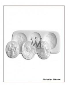 Stampo in Silicone Cameo Silikomart Sugarflex