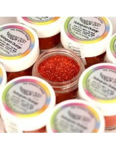 Glitter Sparkle Rainbow Dust Hologram Orange