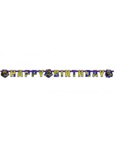 Festone Happy Birthday Tartarughe Ninja
