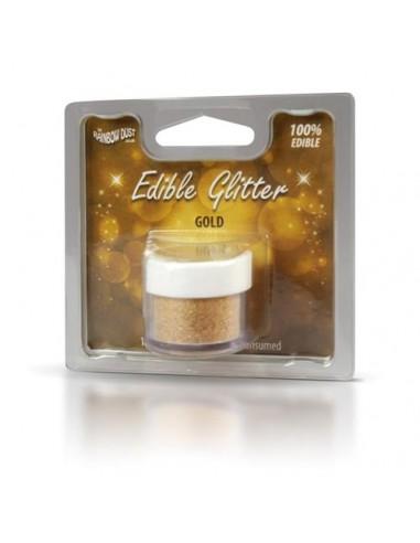 Glitter Perlato Oro Rainbow Dust