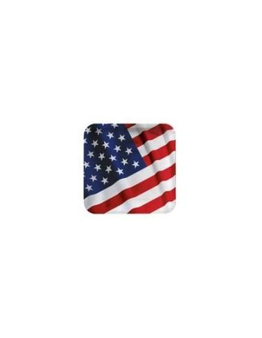 18 Piatti cm 23 Bandiera Americana